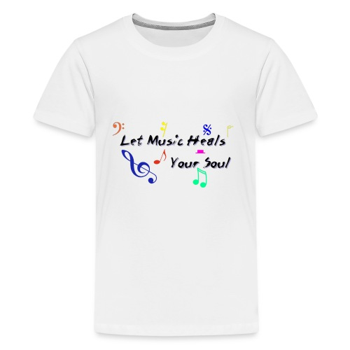 Music Heals - Kids' Premium T-Shirt