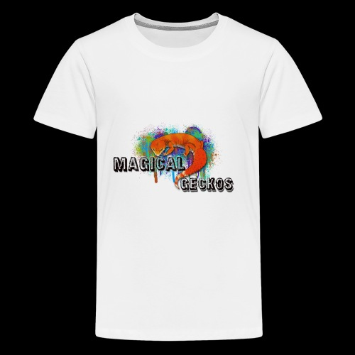 Magical Geckos Paint scheme - Kids' Premium T-Shirt