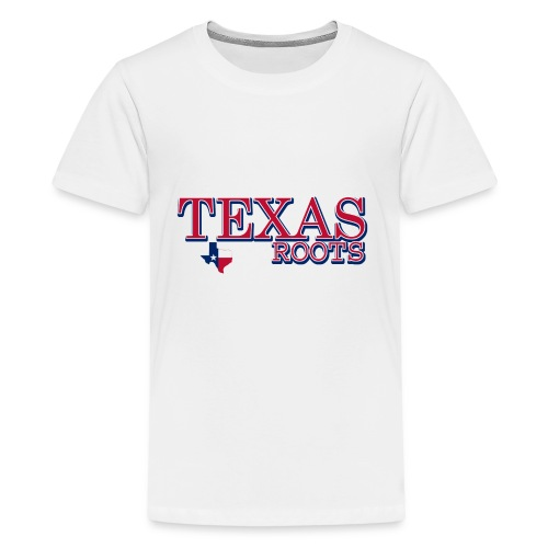 texas roots image - Kids' Premium T-Shirt