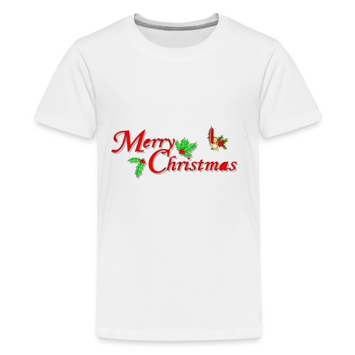 Merry Christmas Happy Holidays Season shirt bells - Kids' Premium T-Shirt