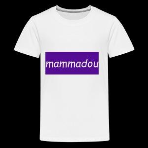 mammadou t-shirt desine - Kids' Premium T-Shirt