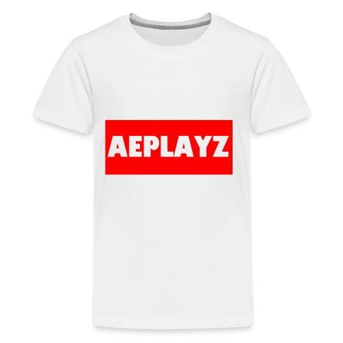 AEplayZ shirt logo - Kids' Premium T-Shirt