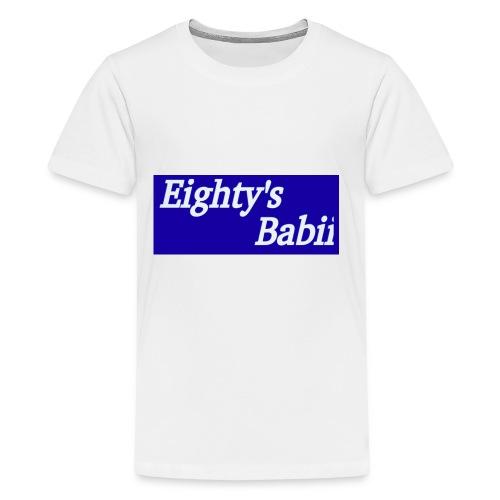 Blueboxlogo80sbabii - Kids' Premium T-Shirt