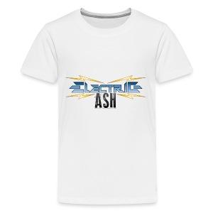 Electric Ash Logo - Main - Transparent Background - Kids' Premium T-Shirt