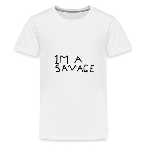 1 Million savage - Kids' Premium T-Shirt