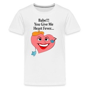 Heart Fever - Kids' Premium T-Shirt