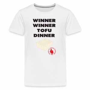 Winner Winner Tofu Dinner - Kids' Premium T-Shirt