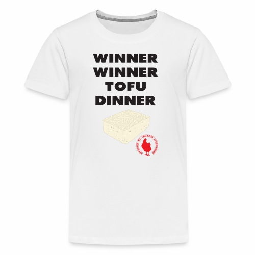 Winner Winner Tofu Dinner - Kids' Premium T-Shirt