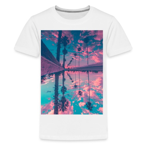 Palm trees - Kids' Premium T-Shirt