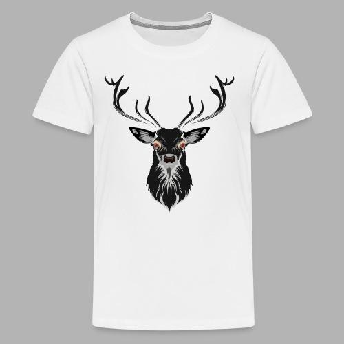 Evil Stag - Kids' Premium T-Shirt