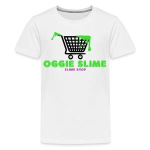 Oggie Slime (Slime Shop) Apparel - Kids' Premium T-Shirt