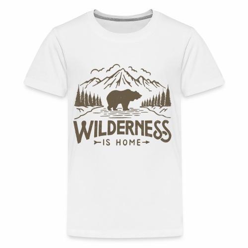 Wild Series - Wilderness - Kids' Premium T-Shirt