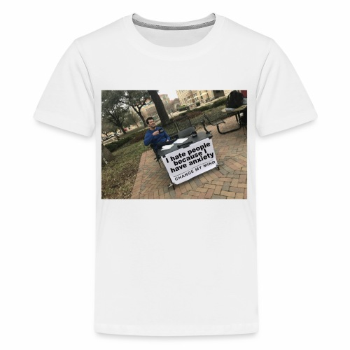 Change My Mind Meme - Kids' Premium T-Shirt