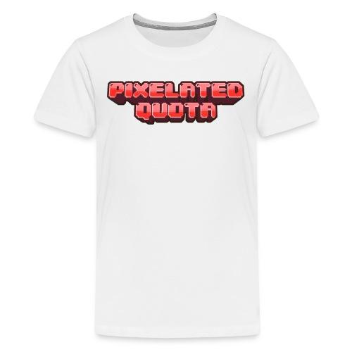 Pixel (Red) - Kids' Premium T-Shirt