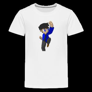 WHITE SKYKIDD18 T-SHIRT ORIGINAL DESIGN - Kids' Premium T-Shirt