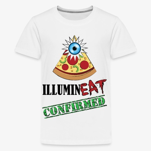 Illuminati / IlluminEAT CONFIRMED! - Kids' Premium T-Shirt
