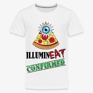 Illuminati / IlluminEAT CONFIRMED! - Kids' Premium T-Shirt