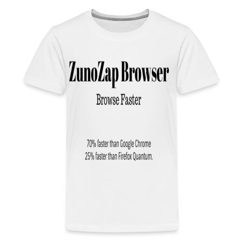 ZunoZap Browser - Kids' Premium T-Shirt