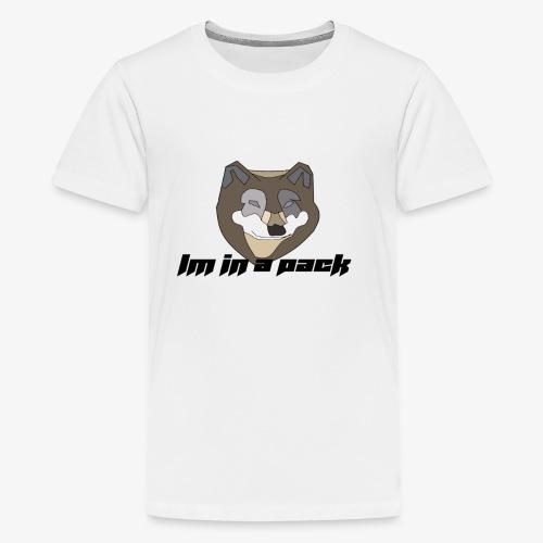 im in a pack - Kids' Premium T-Shirt