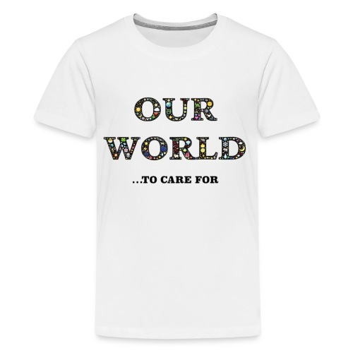 Save the world, save the planet earth awareness - Kids' Premium T-Shirt