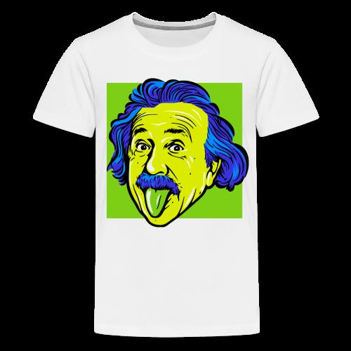 Crazy Einstein - Kids' Premium T-Shirt