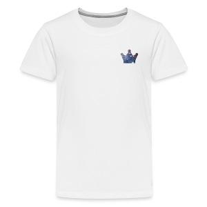 KingJG's Galaxy Merch CROWN ONLY - Kids' Premium T-Shirt