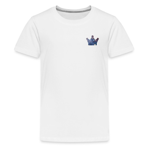 KingJG's Galaxy Merch CROWN ONLY - Kids' Premium T-Shirt
