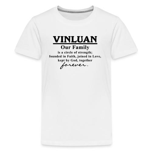 Vinluan Family 01 - Kids' Premium T-Shirt