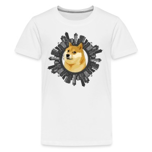 Doge all around (meme) - Kids' Premium T-Shirt