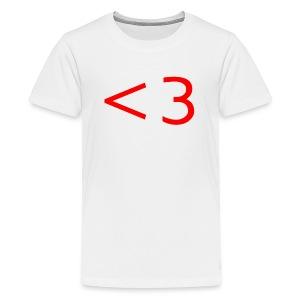 RED HEART - Kids' Premium T-Shirt