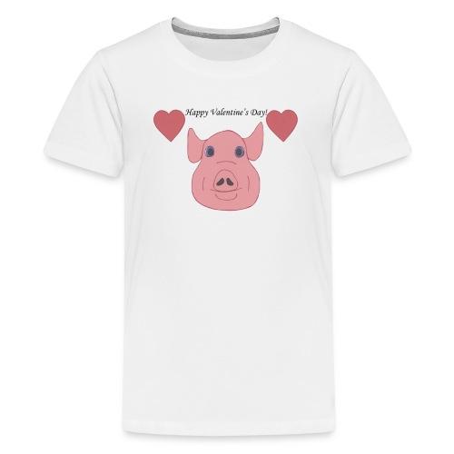 Valentine's Day Mug - Kids' Premium T-Shirt