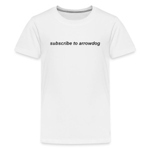 Sub 2 ArrowDog White - Kids' Premium T-Shirt