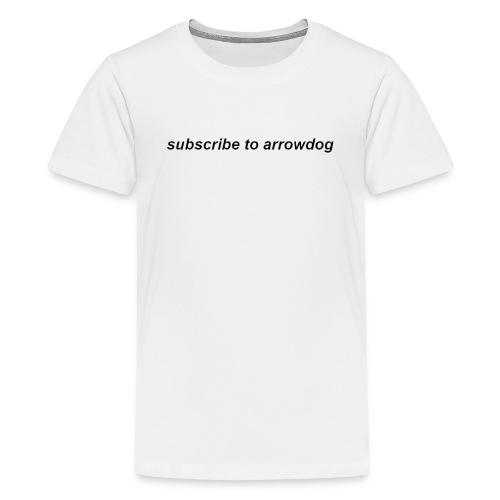 Sub 2 ArrowDog White - Kids' Premium T-Shirt