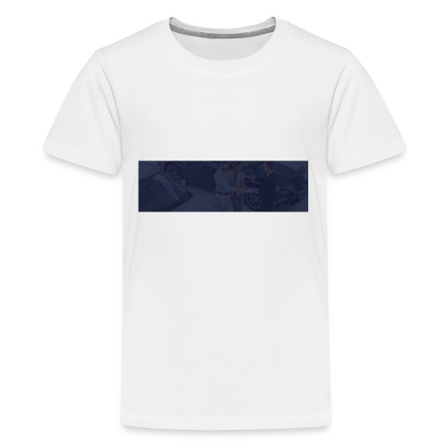 footer bg - Kids' Premium T-Shirt