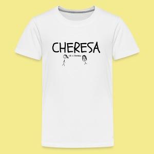 cheresa hoodies and shirts - Kids' Premium T-Shirt