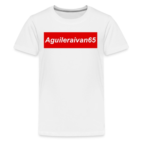 supreme shirt type of merch - Kids' Premium T-Shirt