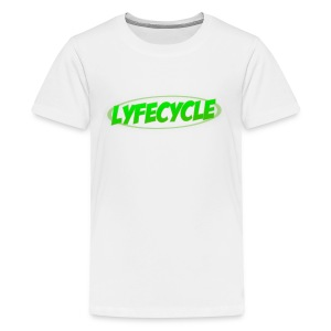LYFECYCLE RETRO LOGO - Kids' Premium T-Shirt