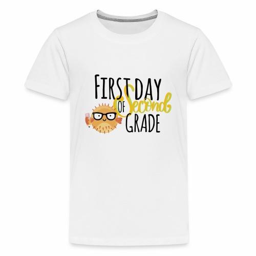 First Day of Second Grade - Kids' Premium T-Shirt