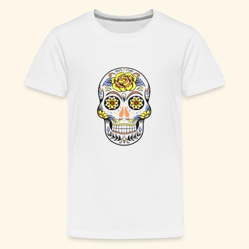Day of dead sugar skull - Kids' Premium T-Shirt
