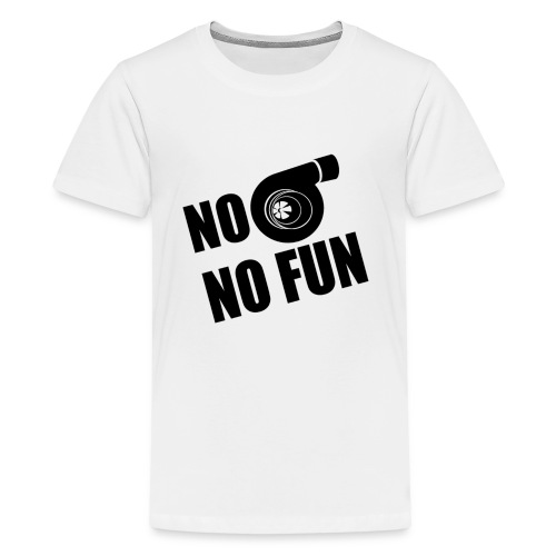 No Turbo No Fun - Kids' Premium T-Shirt