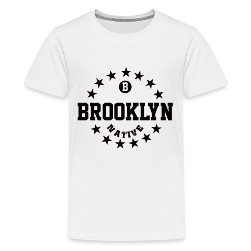 BROOLYN_NATIVE_REPLACE - Kids' Premium T-Shirt