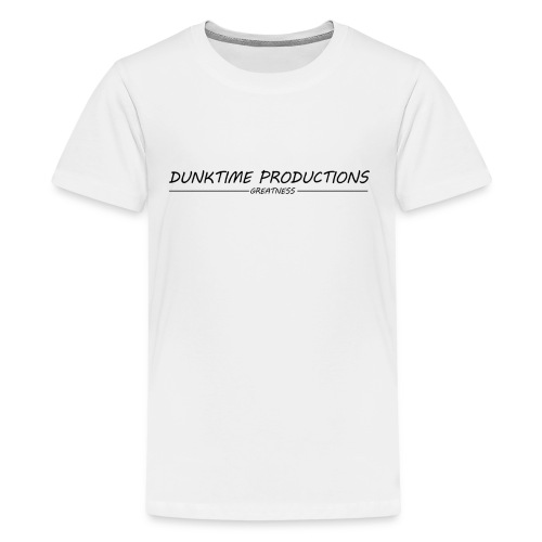 DUNKTIME Productions Greatness - Kids' Premium T-Shirt