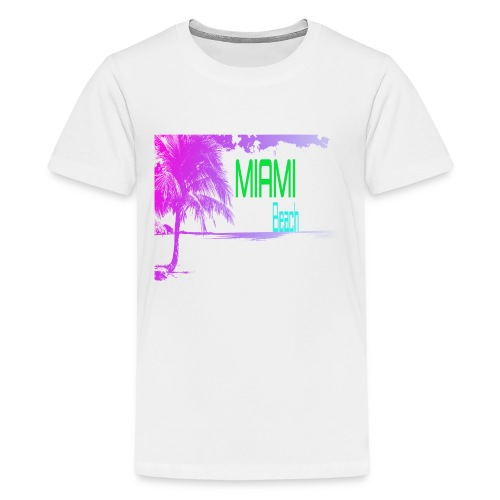 Miami Beach NEON - Kids' Premium T-Shirt