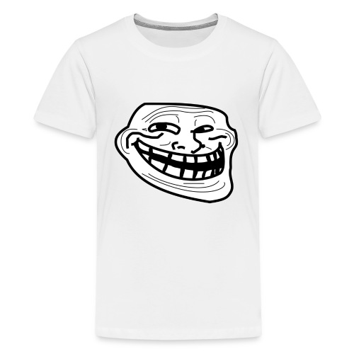 Troll Face short sleeved shirt - Kids' Premium T-Shirt