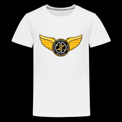 Winged Out Black/Yellow - Kids' Premium T-Shirt