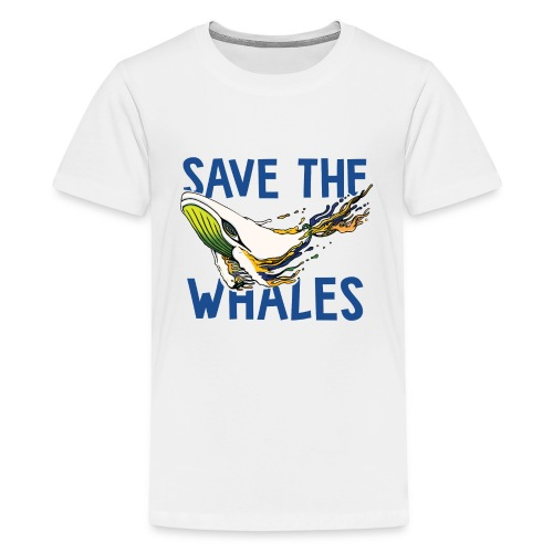 SAVE THE WHALES - Kids' Premium T-Shirt