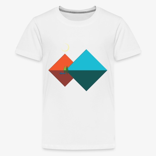 Paper Moon - Kids' Premium T-Shirt