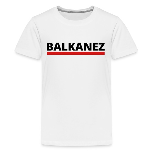 BALKANEZ BLACK - Kids' Premium T-Shirt