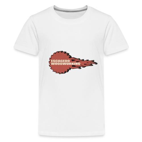 Fireball Saw Logo - Kids' Premium T-Shirt