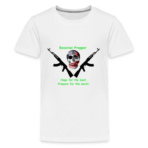 Prepper Skull - Kids' Premium T-Shirt